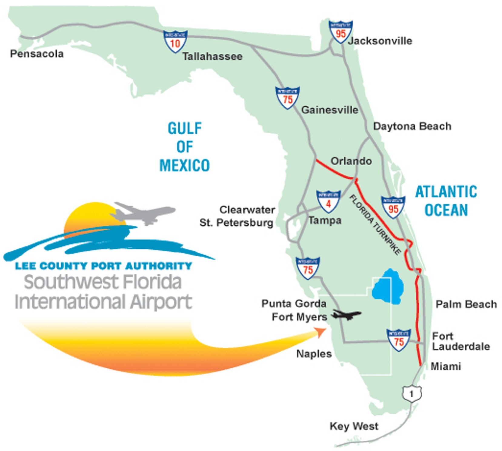 Southwest Florida Map With Cities.Fgcu Hockey
